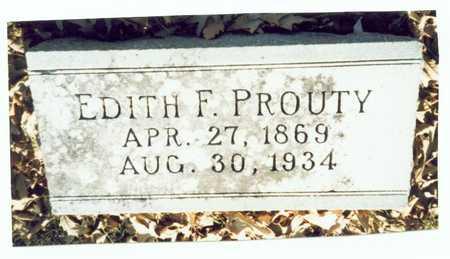 FLETCHER PROUTY, EDITH F. - Pottawattamie County, Iowa | EDITH F. FLETCHER PROUTY