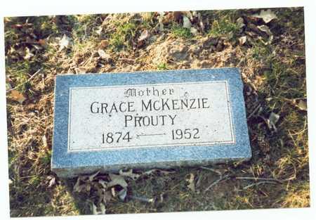 PROUTY, GRACE ELIZABETH - Pottawattamie County, Iowa   GRACE ELIZABETH PROUTY