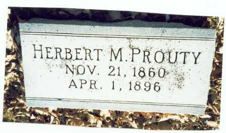 PROUTY, HERBERT MILES - Pottawattamie County, Iowa | HERBERT MILES PROUTY