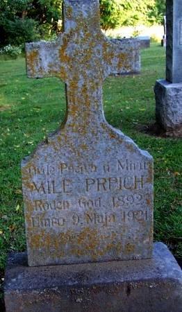 PRPICH, MILE - Pottawattamie County, Iowa | MILE PRPICH