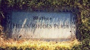 PURDY, HELEN RHODES - Pottawattamie County, Iowa | HELEN RHODES PURDY