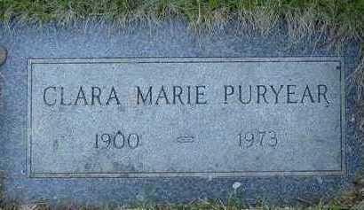 SPURLOCK PURYEAR, CLARA MARIE - Pottawattamie County, Iowa | CLARA MARIE SPURLOCK PURYEAR