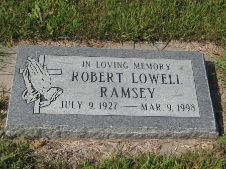 RAMSEY, ROBERT LOWELL - Pottawattamie County, Iowa | ROBERT LOWELL RAMSEY