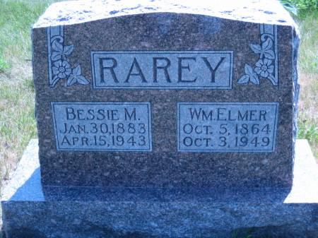 RAREY, BESSIE M. - Pottawattamie County, Iowa   BESSIE M. RAREY