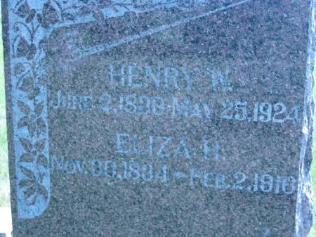 RAREY, HENRY W. - Pottawattamie County, Iowa | HENRY W. RAREY