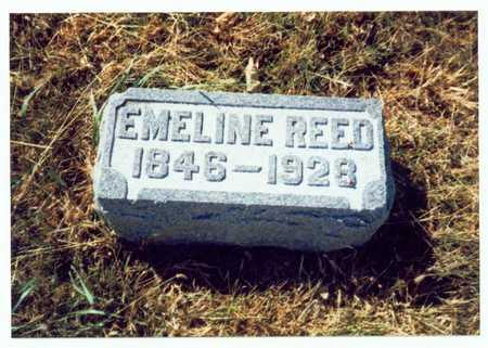 REED, EMELINE - Pottawattamie County, Iowa   EMELINE REED