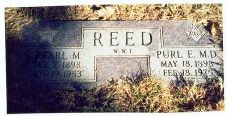 REED, PURL E. - Pottawattamie County, Iowa | PURL E. REED