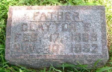 REEL, CLAYTON E. - Pottawattamie County, Iowa   CLAYTON E. REEL