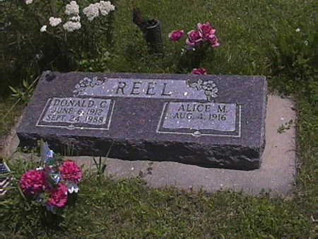 REEL, ALICE . M - Pottawattamie County, Iowa | ALICE . M REEL