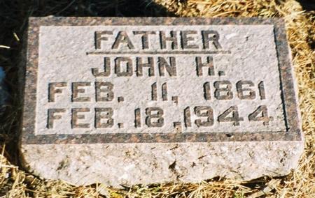 REEL, JOHN H - Pottawattamie County, Iowa | JOHN H REEL
