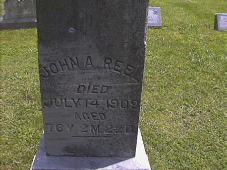 REEL, JOHN. A. - Pottawattamie County, Iowa | JOHN. A. REEL