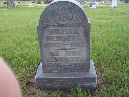 REMMERS, WILLIAM - Pottawattamie County, Iowa | WILLIAM REMMERS