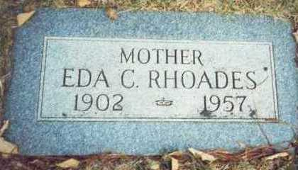 RHOADES, EDA C. - Pottawattamie County, Iowa | EDA C. RHOADES