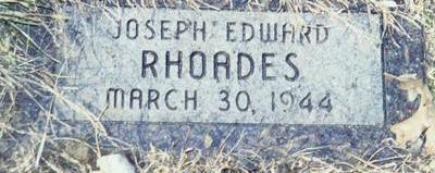 RHOADES, JOSEPH EDWARD - Pottawattamie County, Iowa | JOSEPH EDWARD RHOADES