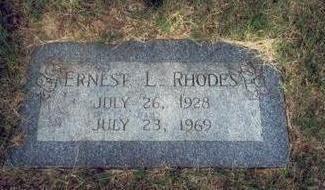 RHODES, ERNEST LEROY - Pottawattamie County, Iowa | ERNEST LEROY RHODES