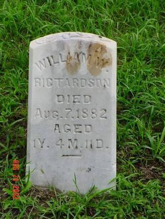 RICHARDSON, WILLIAM W. - Pottawattamie County, Iowa | WILLIAM W. RICHARDSON