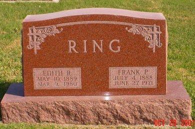 RING, FRANK P - Pottawattamie County, Iowa | FRANK P RING