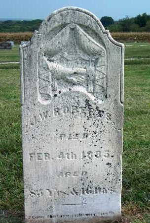 ROBERTS, J.W. - Pottawattamie County, Iowa | J.W. ROBERTS