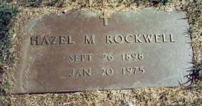 JAMES ROCKWELL, HAZEL MAE - Pottawattamie County, Iowa | HAZEL MAE JAMES ROCKWELL