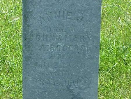 ROGERS, ANNIE J. - Pottawattamie County, Iowa | ANNIE J. ROGERS