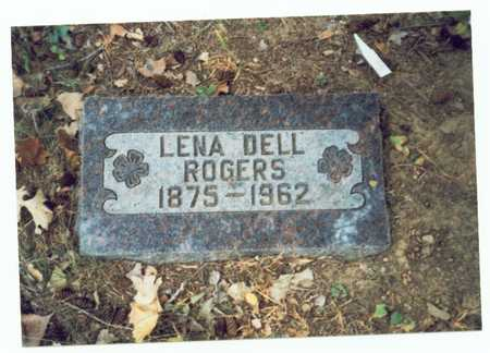 ROGERS, LENA DELL - Pottawattamie County, Iowa   LENA DELL ROGERS