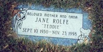 ROLFE, JANE - Pottawattamie County, Iowa | JANE ROLFE