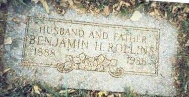 ROLLINS, BENJAMIN H. - Pottawattamie County, Iowa | BENJAMIN H. ROLLINS
