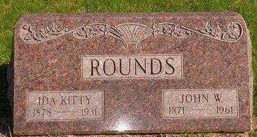 ROUNDS, IDA KITTY - Pottawattamie County, Iowa | IDA KITTY ROUNDS