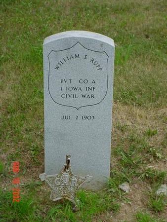 RUPP, WILLIAM S. - Pottawattamie County, Iowa | WILLIAM S. RUPP