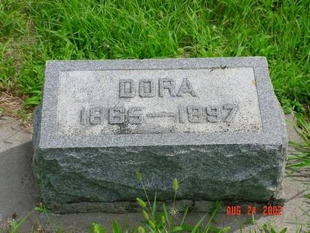 RUSH, DORA - Pottawattamie County, Iowa | DORA RUSH