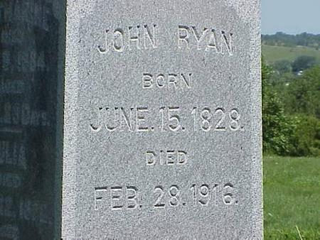 RYAN, JOHN 2 - Pottawattamie County, Iowa | JOHN 2 RYAN