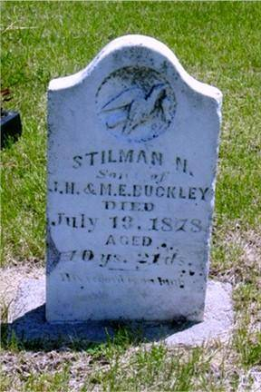 BUCKLEY, STILMAN N. - Pottawattamie County, Iowa | STILMAN N. BUCKLEY