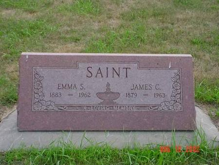 SAINT, EMMA S. & JAMES C. - Pottawattamie County, Iowa | EMMA S. & JAMES C. SAINT