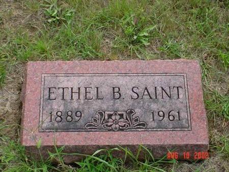 SAINT, ETHEL B. - Pottawattamie County, Iowa | ETHEL B. SAINT