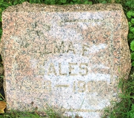 SALES, ALMA F - Pottawattamie County, Iowa   ALMA F SALES
