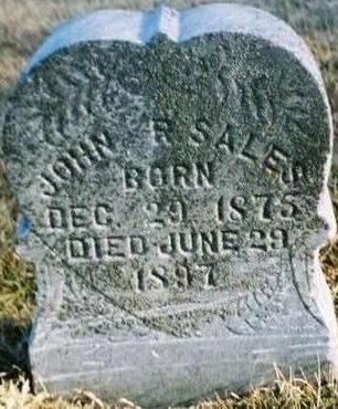 SALES, JOHN R - Pottawattamie County, Iowa   JOHN R SALES