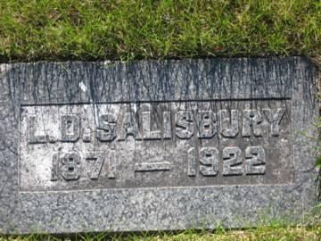 SALISBURY, L.D. - Pottawattamie County, Iowa | L.D. SALISBURY