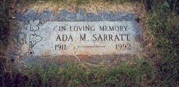 SARRATT, ADA M. - Pottawattamie County, Iowa | ADA M. SARRATT