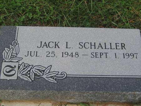 SCHALLER, JACK L. - Pottawattamie County, Iowa   JACK L. SCHALLER