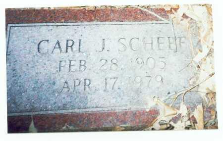 SCHEEF, CARL J. - Pottawattamie County, Iowa | CARL J. SCHEEF