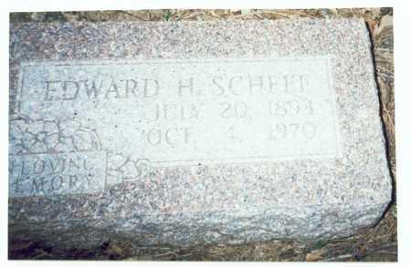 SCHEEF, EDWARD H. - Pottawattamie County, Iowa | EDWARD H. SCHEEF