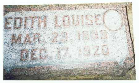 SCHEEF, EDITH LOUISE - Pottawattamie County, Iowa | EDITH LOUISE SCHEEF