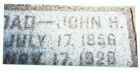 SCHEEF, JOHN H. - Pottawattamie County, Iowa | JOHN H. SCHEEF