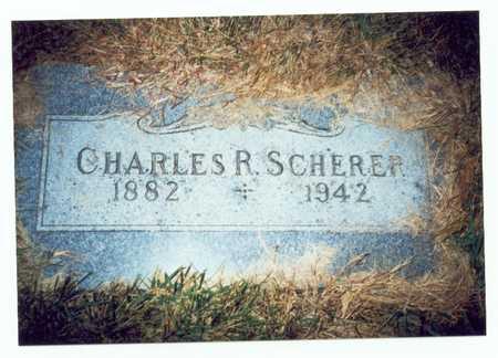 SCHERER, CHARLES R. - Pottawattamie County, Iowa | CHARLES R. SCHERER