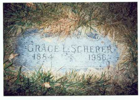 SCHERER, GRACE L. - Pottawattamie County, Iowa | GRACE L. SCHERER