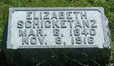 SCHICKETANZ, ELIZABETH - Pottawattamie County, Iowa | ELIZABETH SCHICKETANZ