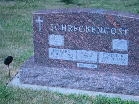 SCHRECKENGOST, ELAINE R. - Pottawattamie County, Iowa | ELAINE R. SCHRECKENGOST