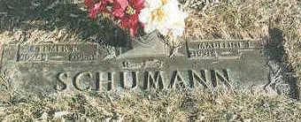 SCHUMANN, ELMER RILEY - Pottawattamie County, Iowa   ELMER RILEY SCHUMANN
