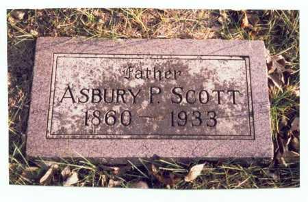 SCOTT, ASBURY P. - Pottawattamie County, Iowa | ASBURY P. SCOTT