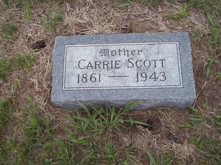 SCOTT, CARRIE - Pottawattamie County, Iowa   CARRIE SCOTT